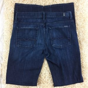 7 for all mankind 31 high waist bootcut jeans